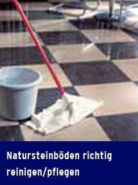 """Produkt: Download Expertenwissen """"Natursteinböden richtig reinigen / pflegen"""""""