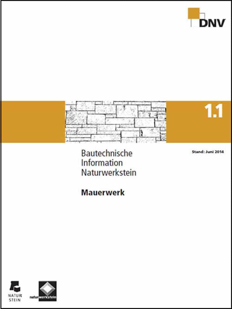 Produkt: DNV BTI 1.1 Mauerwerk
