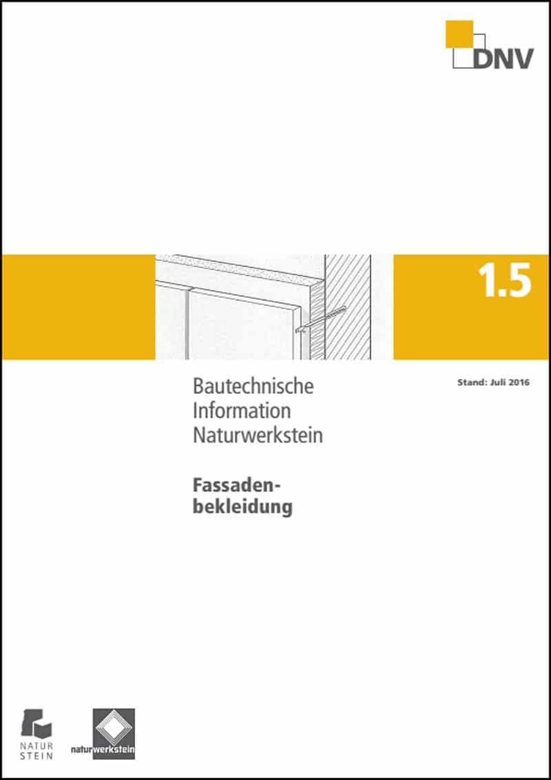Produkt: DNV BTI 1.5: Fassadenbekleidungen (Stand: 2016)