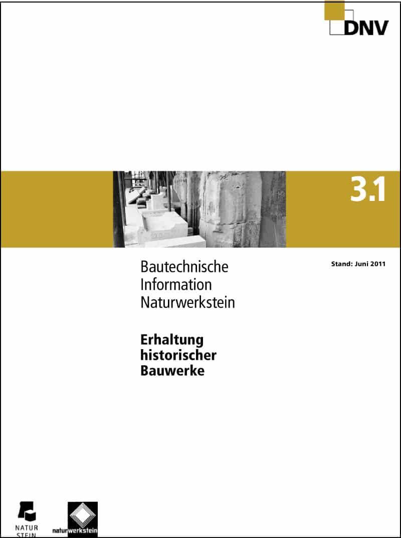 Produkt: DNV BTI 3.1 Erhaltung historischer Bauwerke
