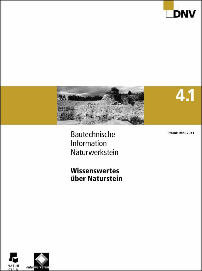 Produkt: DNV BTI 4.1 Wissenswertes über Naturstein