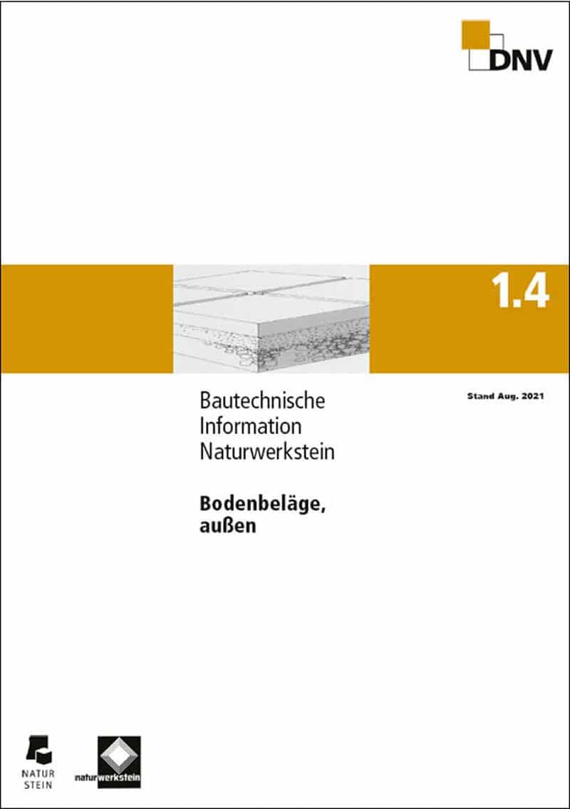 Produkt: DNV BTI 1.4. Bodenbeläge, außen