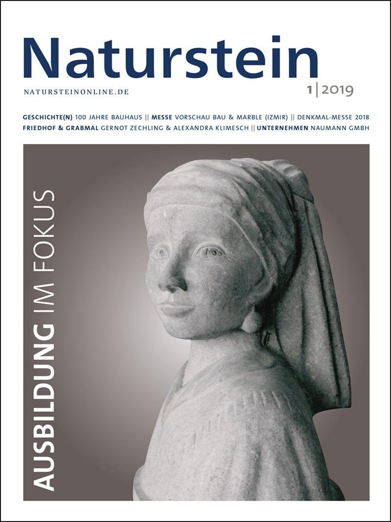 Produkt: Naturstein 1/2019 Digital
