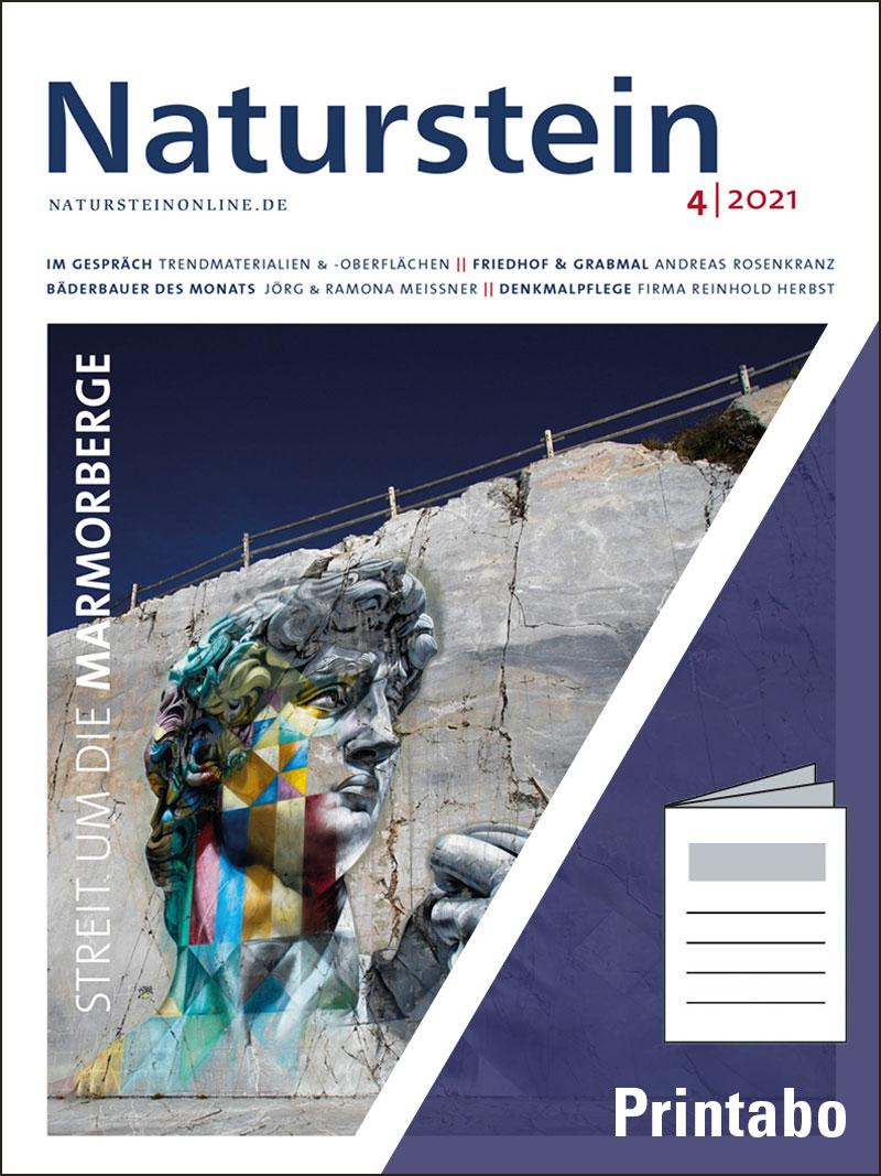 Produkt: Naturstein Jahresabonnement Print