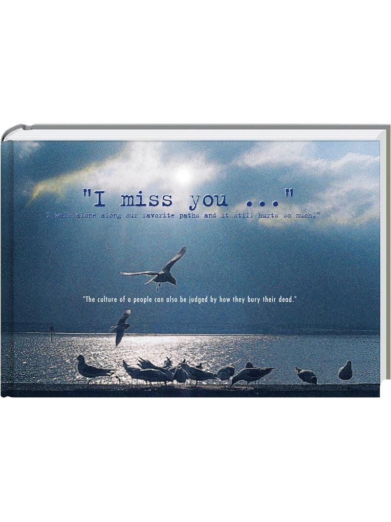 Produkt: I miss you… (Englisch)