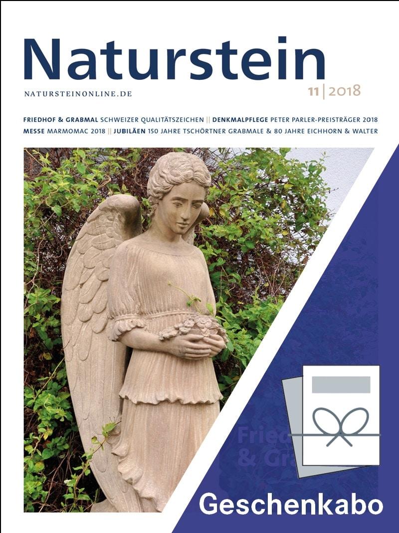 Produkt: Naturstein Geschenkabonnement Print