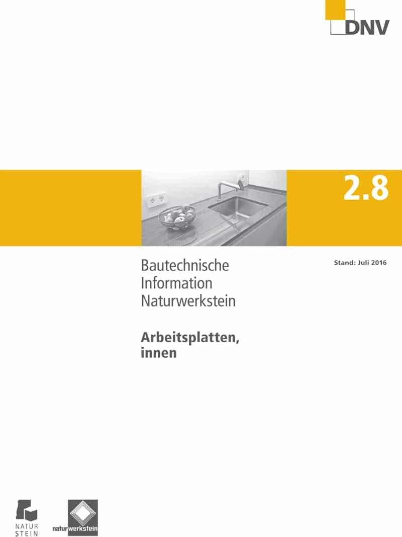 Produkt: DNV BTI 2.8 Arbeitsplatten, innen (Stand: Juli 2016)