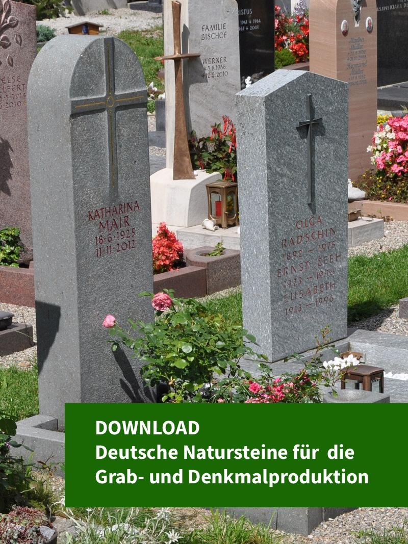 Produkt: Download Deutsche Natursteine für die Grab- und Denkmalproduktion