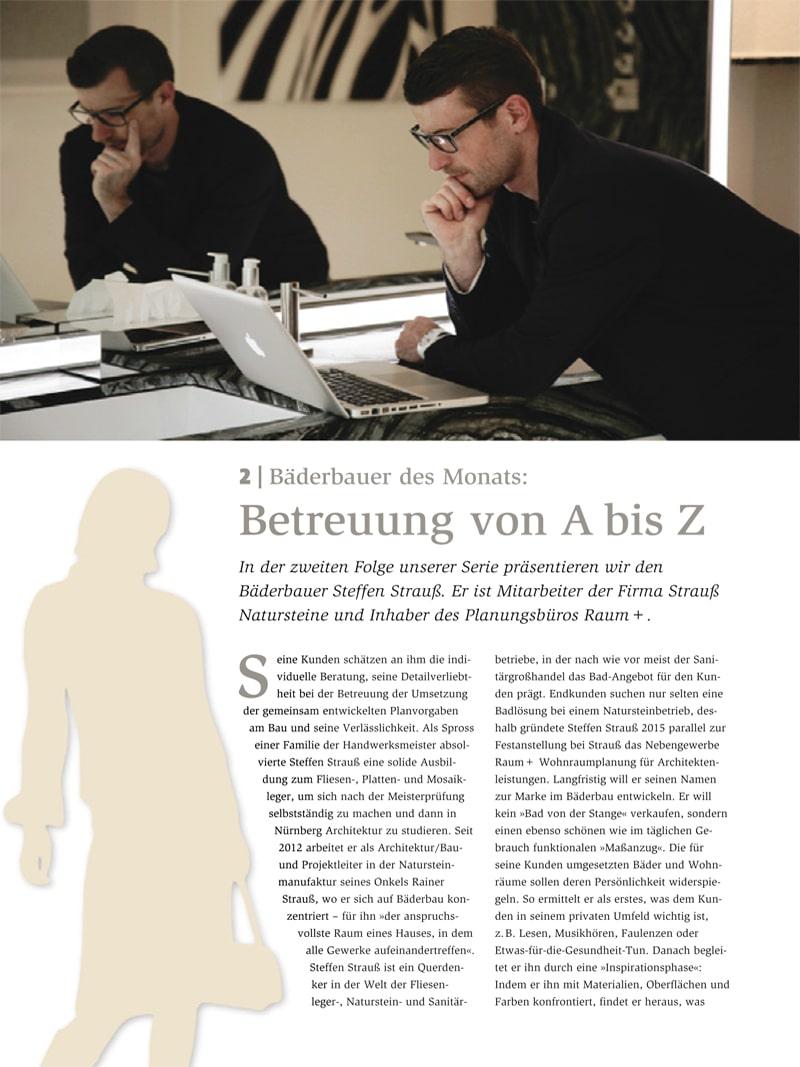Produkt: Download Bäderbauer des Monats (2): Steffen Strauß