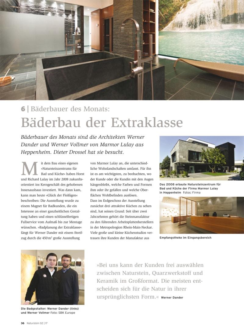 Produkt: Download Bäderbauer des Monats (6): Marmor Lulay