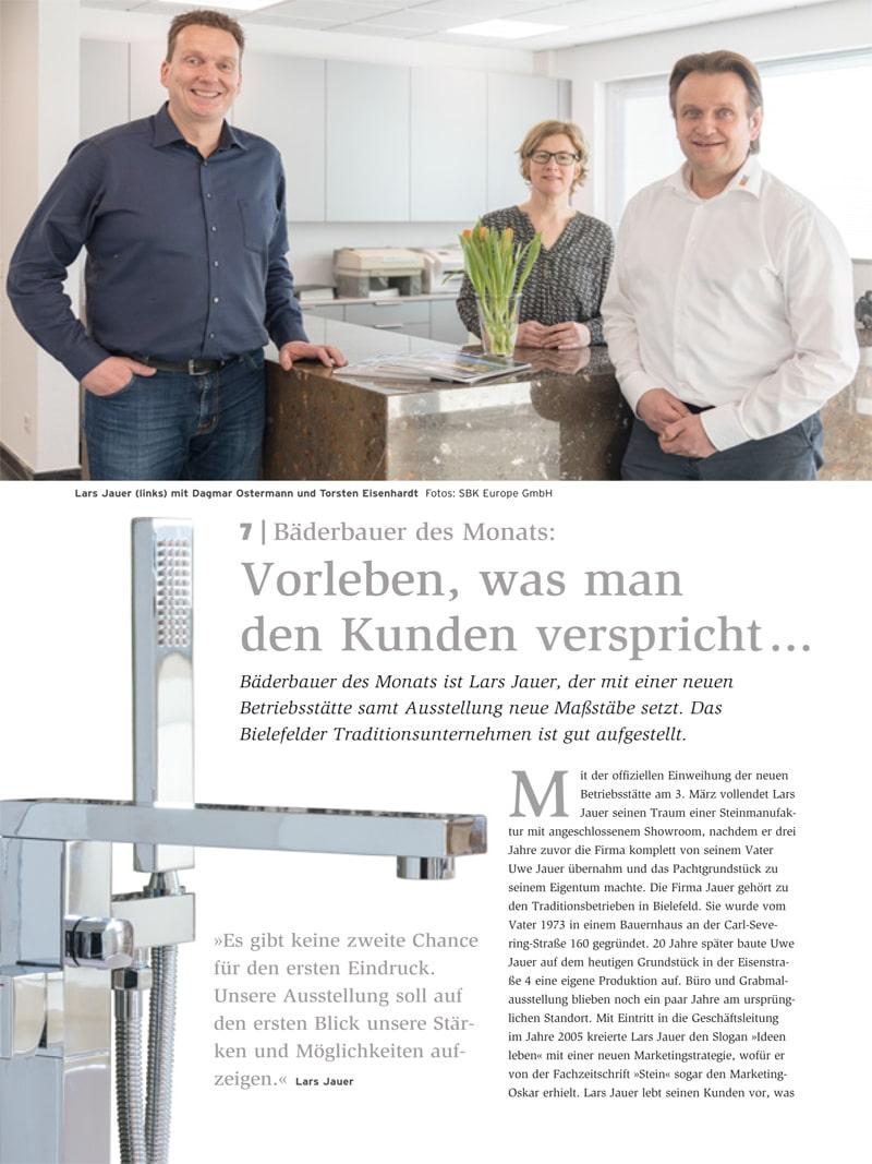 Produkt: Download Bäderbauer des Monats (7): Lars Jauer
