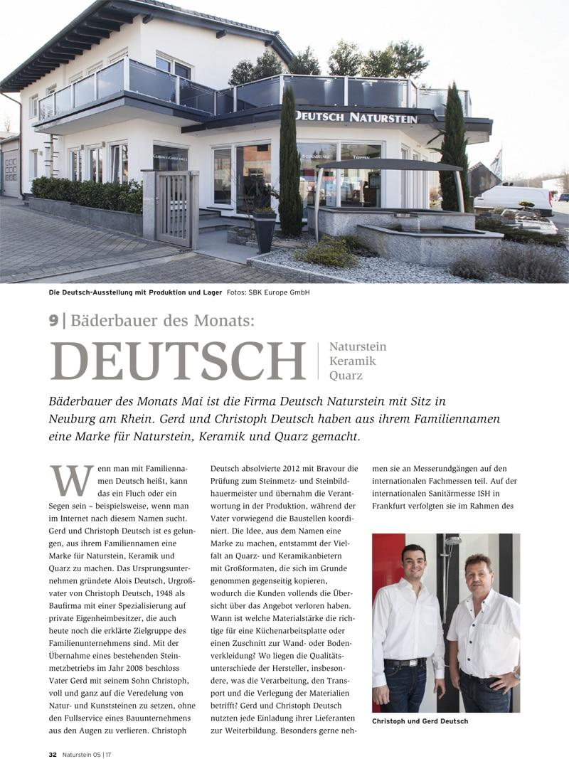 Produkt: Download Bäderbauer des Monats (9): Deutsch Naturstein