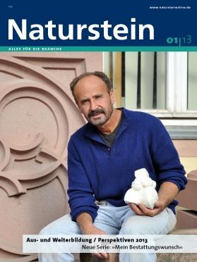 Produkt: Naturstein 1/2013 Digital