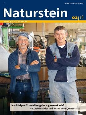 Produkt: Naturstein 2/2013 Digital