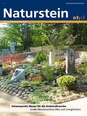 Produkt: Naturstein 3/2013 Digital