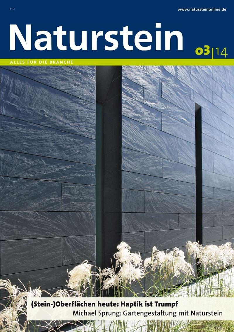 Produkt: Naturstein 3/2014 Digital