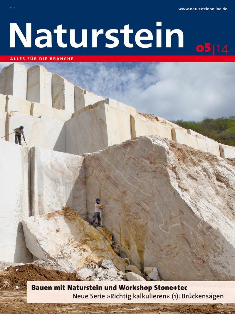 Produkt: Naturstein 5/2014 Digital