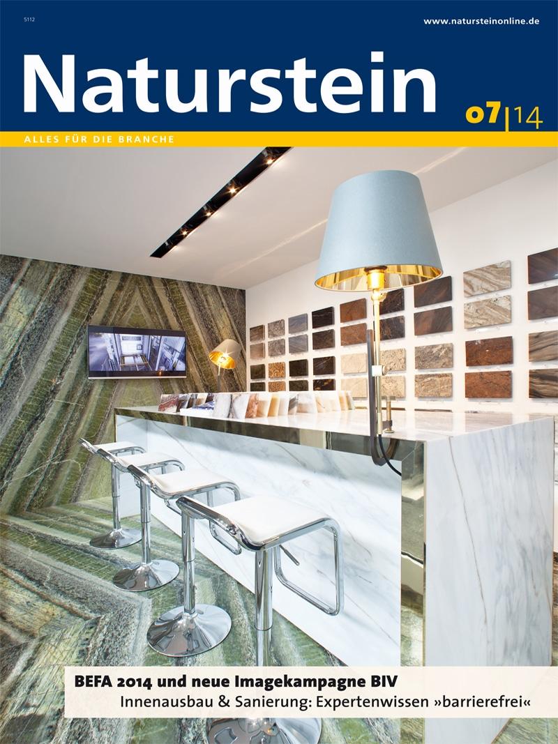 Produkt: Naturstein 7/2014 Digital