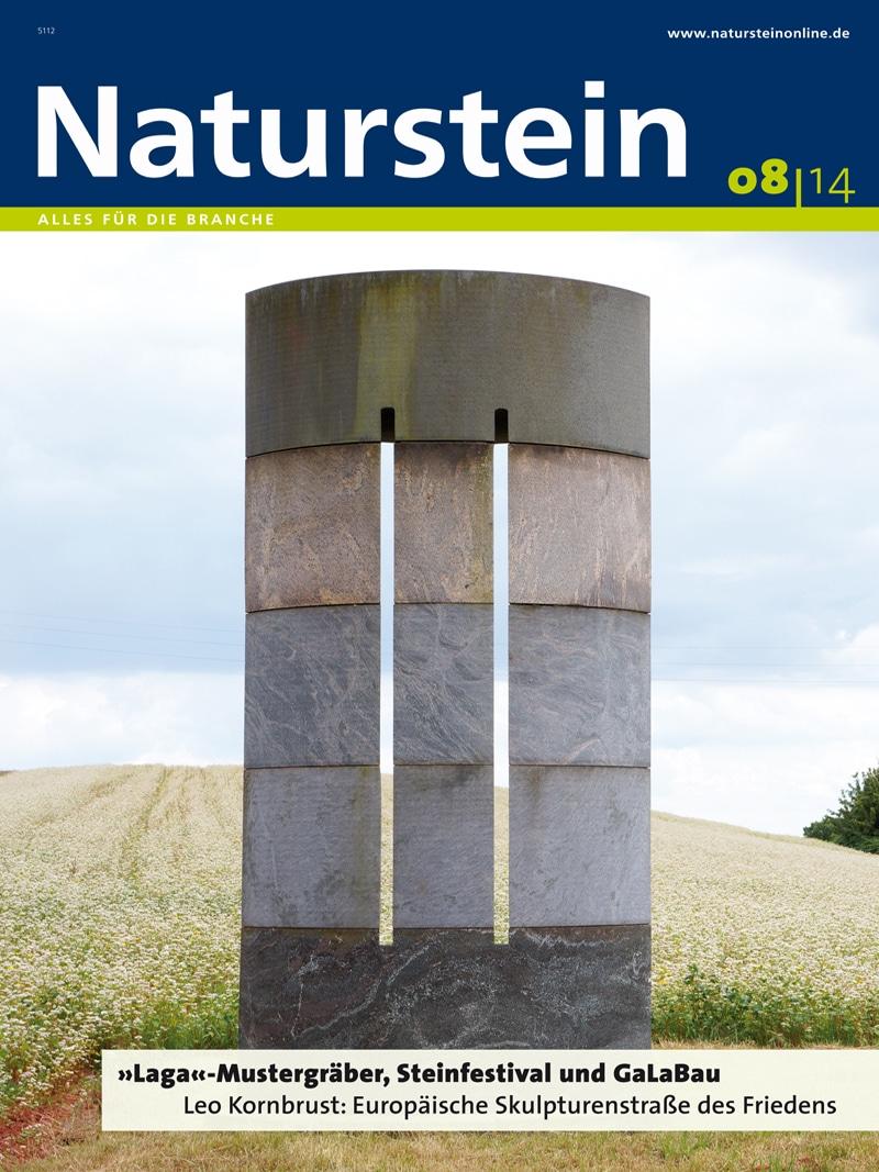 Produkt: Naturstein 8/2014 Digital