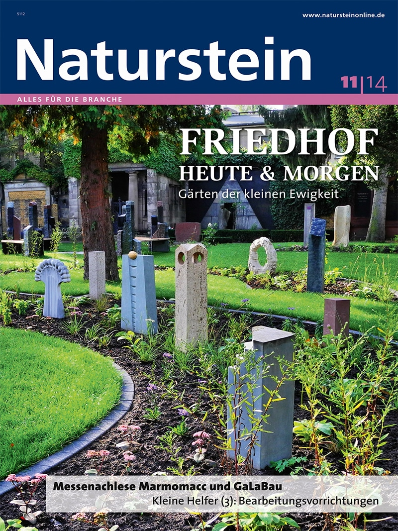 Produkt: Naturstein 11/2014 Digital