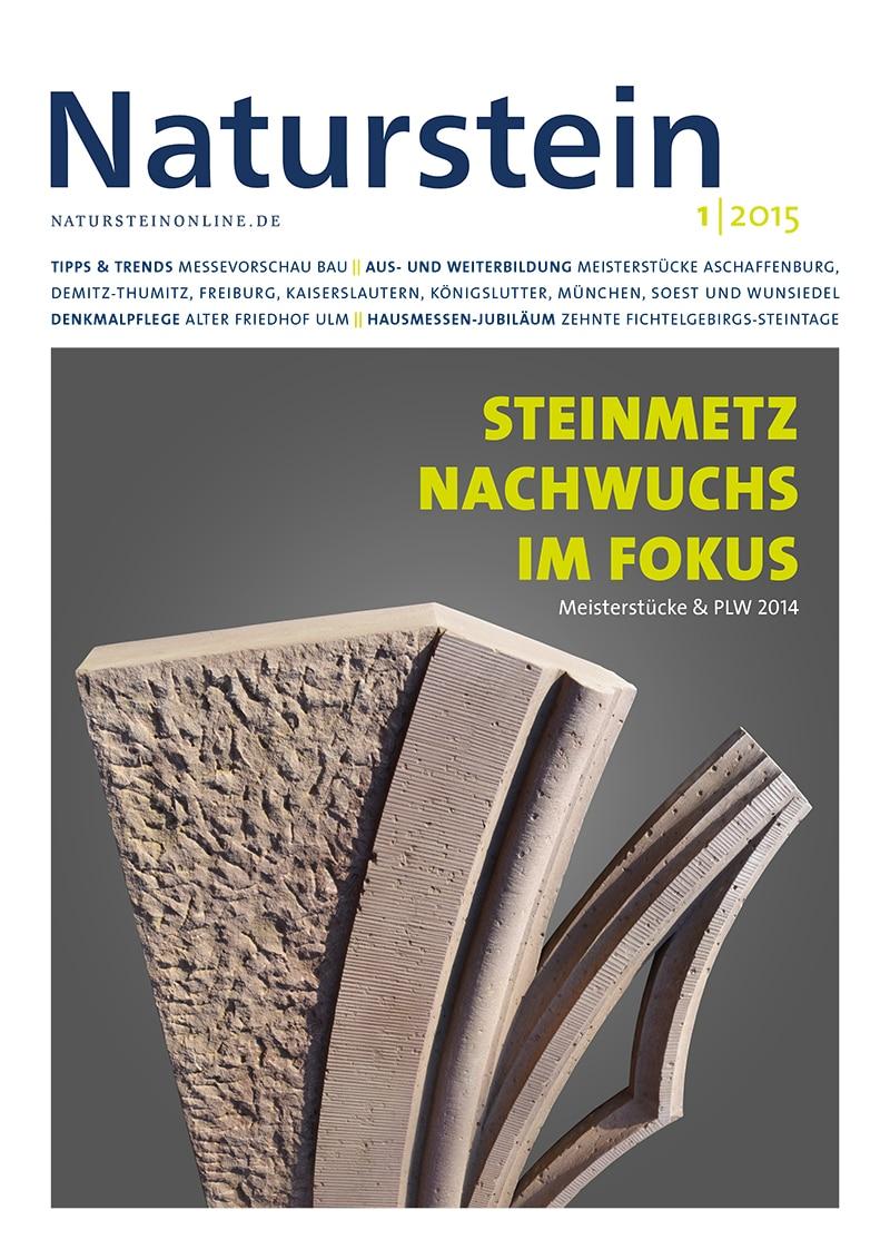 Produkt: Naturstein 01/2015 Digital