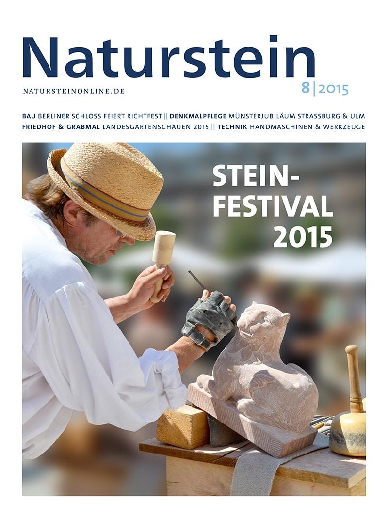 Produkt: Naturstein 08/2015 Digital