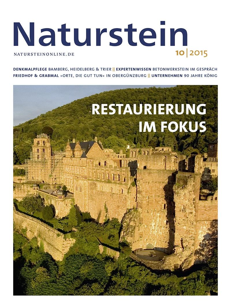 Produkt: Naturstein 10/2015 Digital