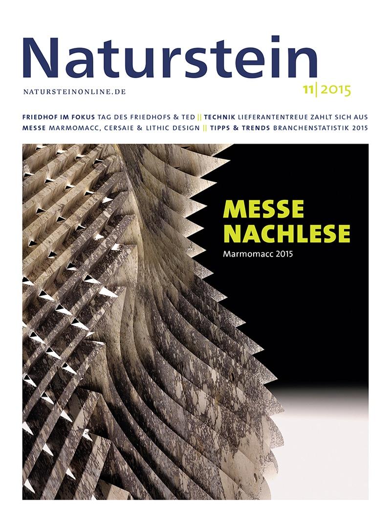 Produkt: Naturstein 11/2015 Digital