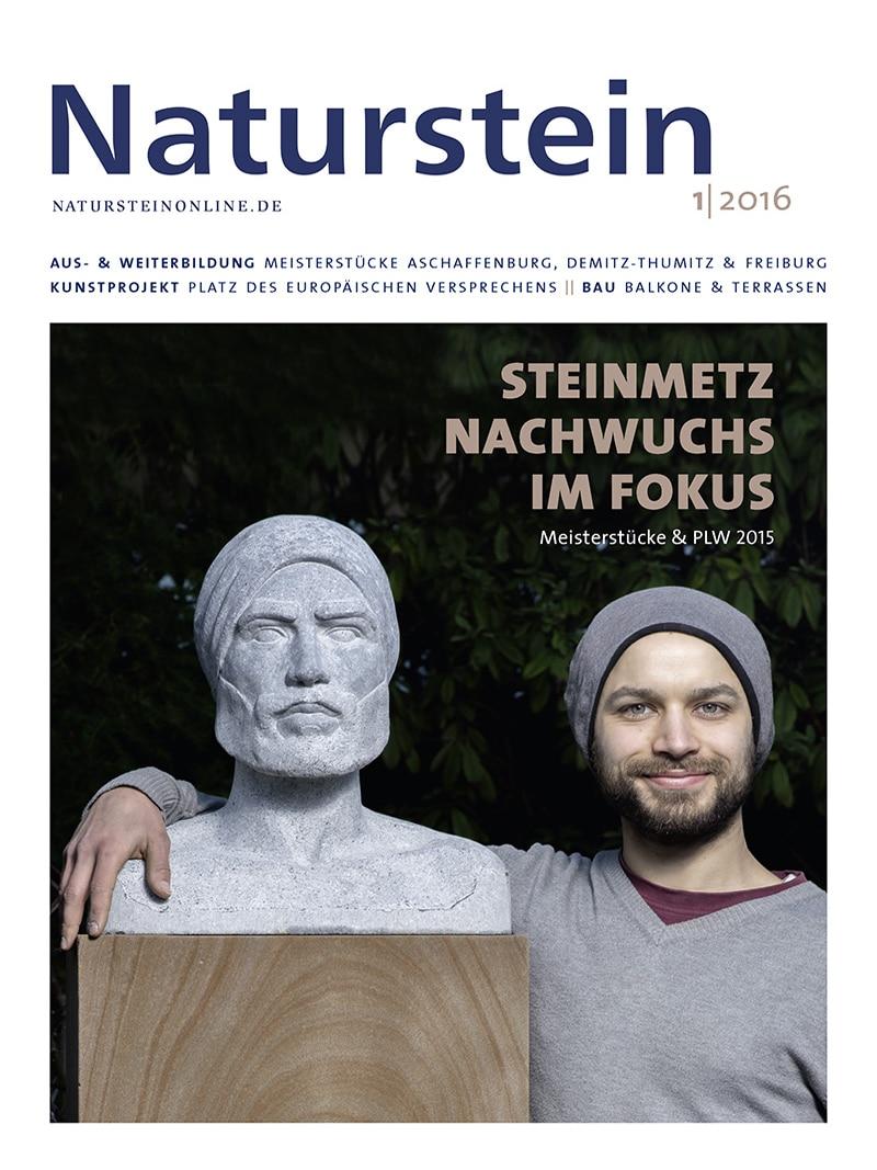 Produkt: Naturstein 01/2016 Digital