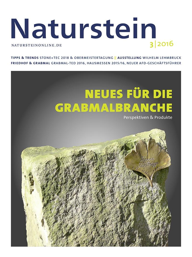 Produkt: Naturstein 03/2016 Digital