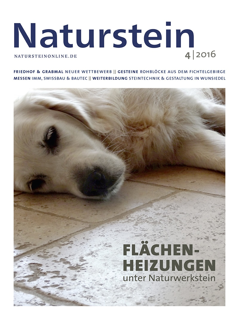 Produkt: Naturstein 04/2016 Digital