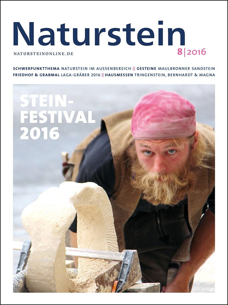 Produkt: Naturstein Digital 08/2016