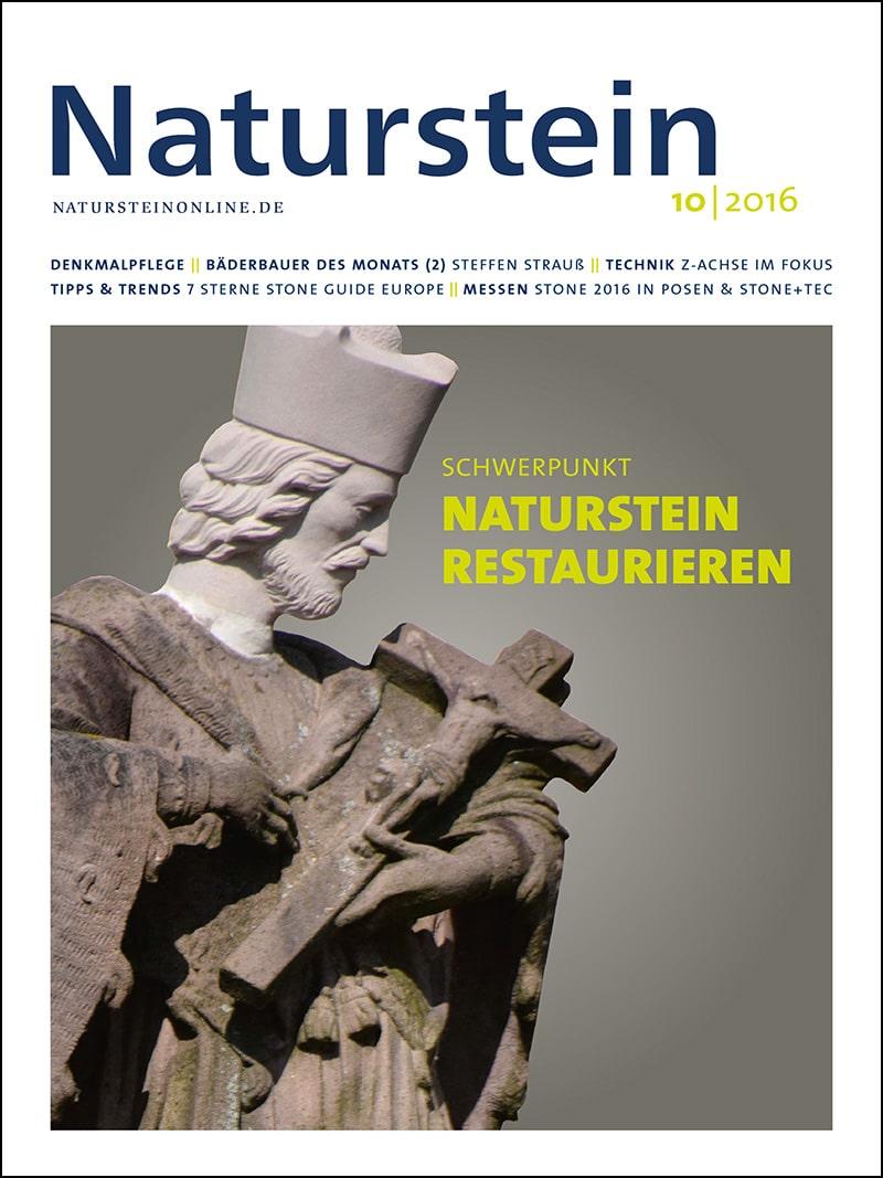 Produkt: Naturstein 10/2016 Digital