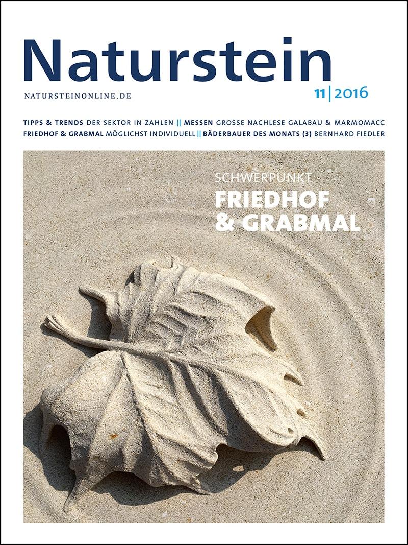 Produkt: Naturstein 11/2016 Digital