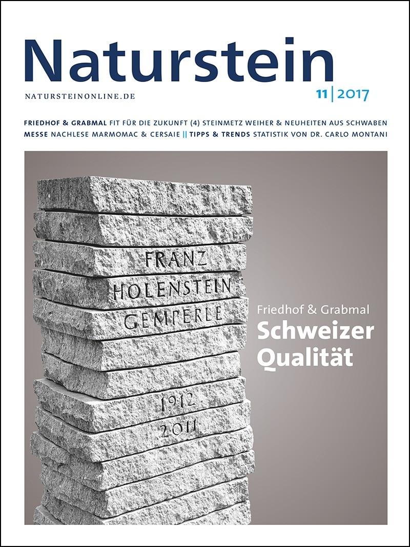 Produkt: Naturstein 11/2017 Digital