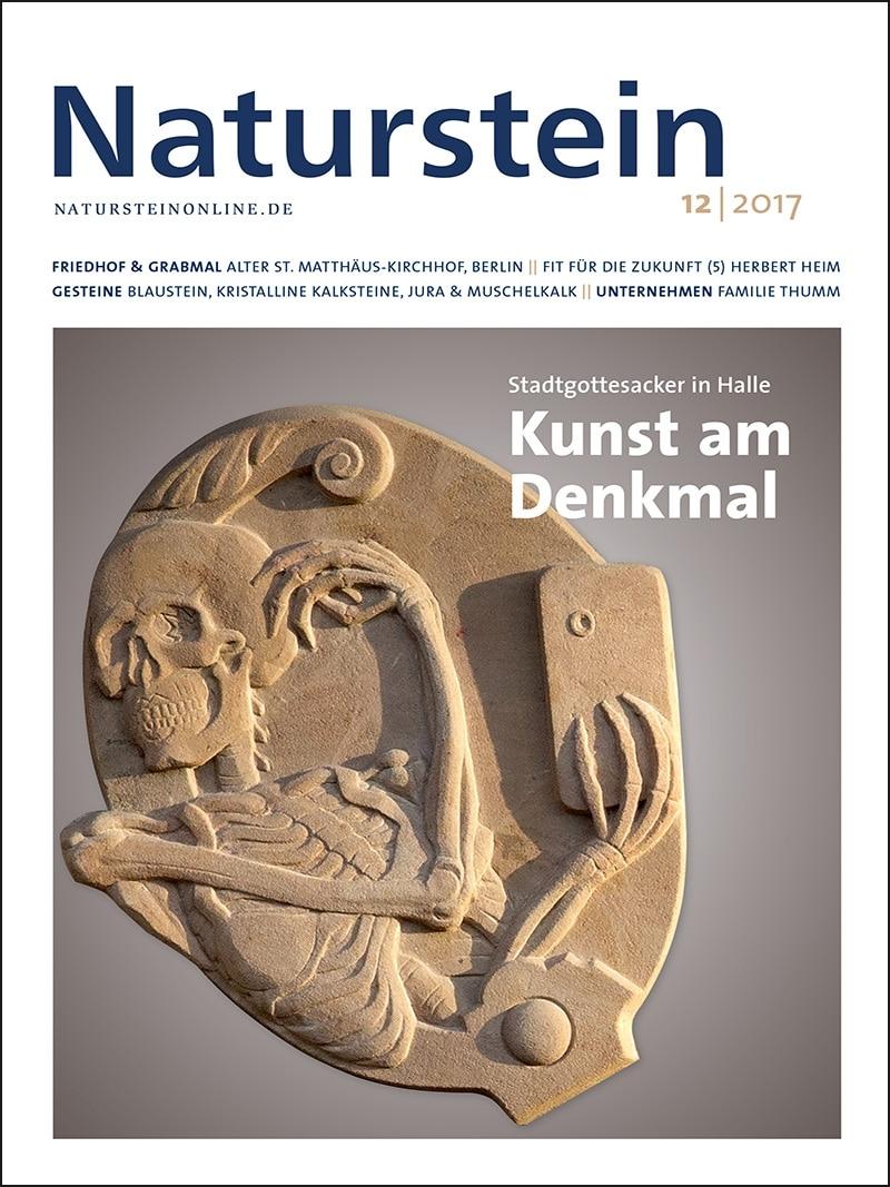 Produkt: Naturstein 12/2017 Digital