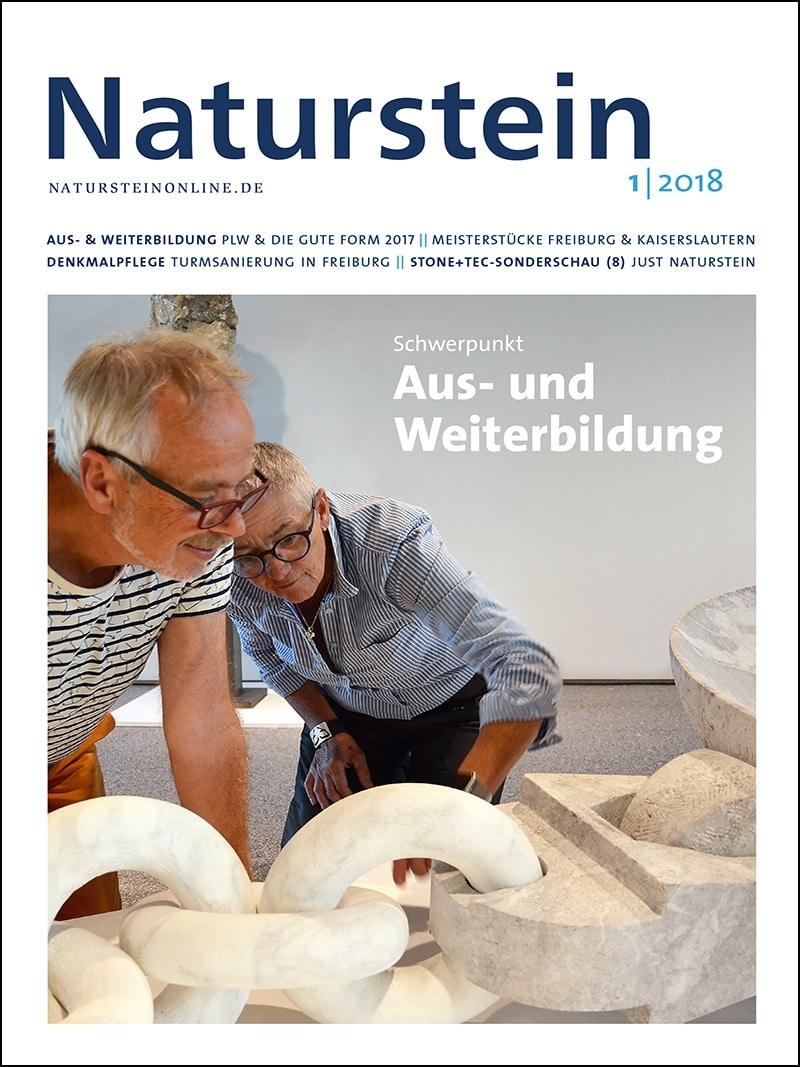 Produkt: Naturstein 01/2018 Digital