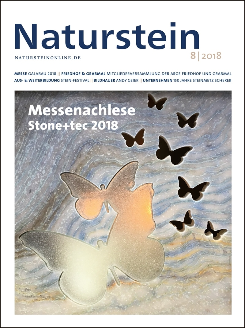 Produkt: Naturstein Digital 08/2018