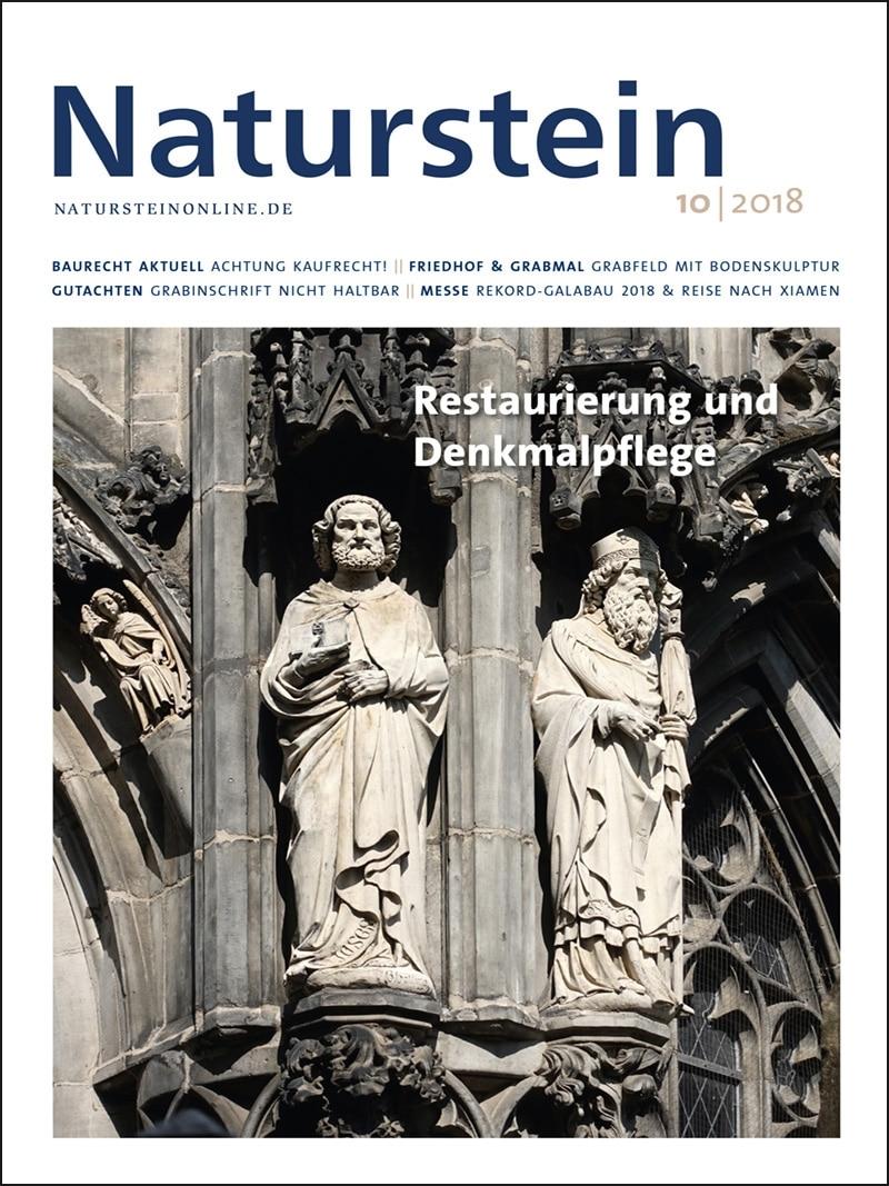 Produkt: Naturstein 10/2018 Digital