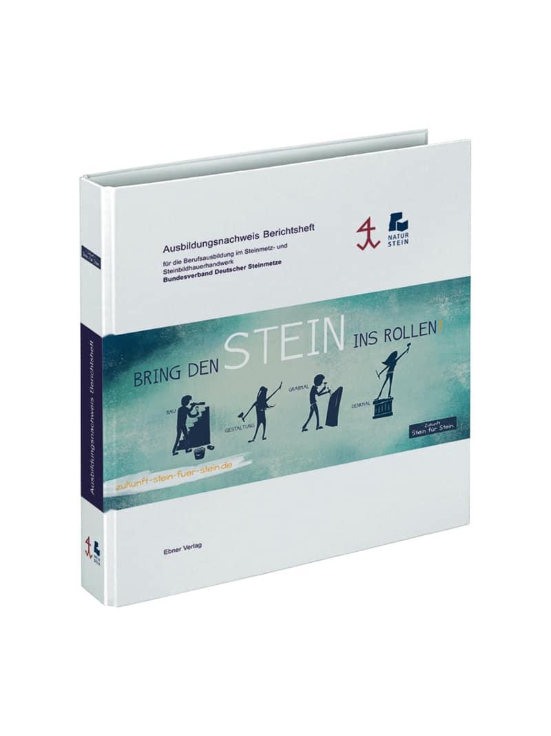 Produkt: Berichtsheftordner für Lehrlinge im Steinmetz- und Steinbildhauerhandwerk