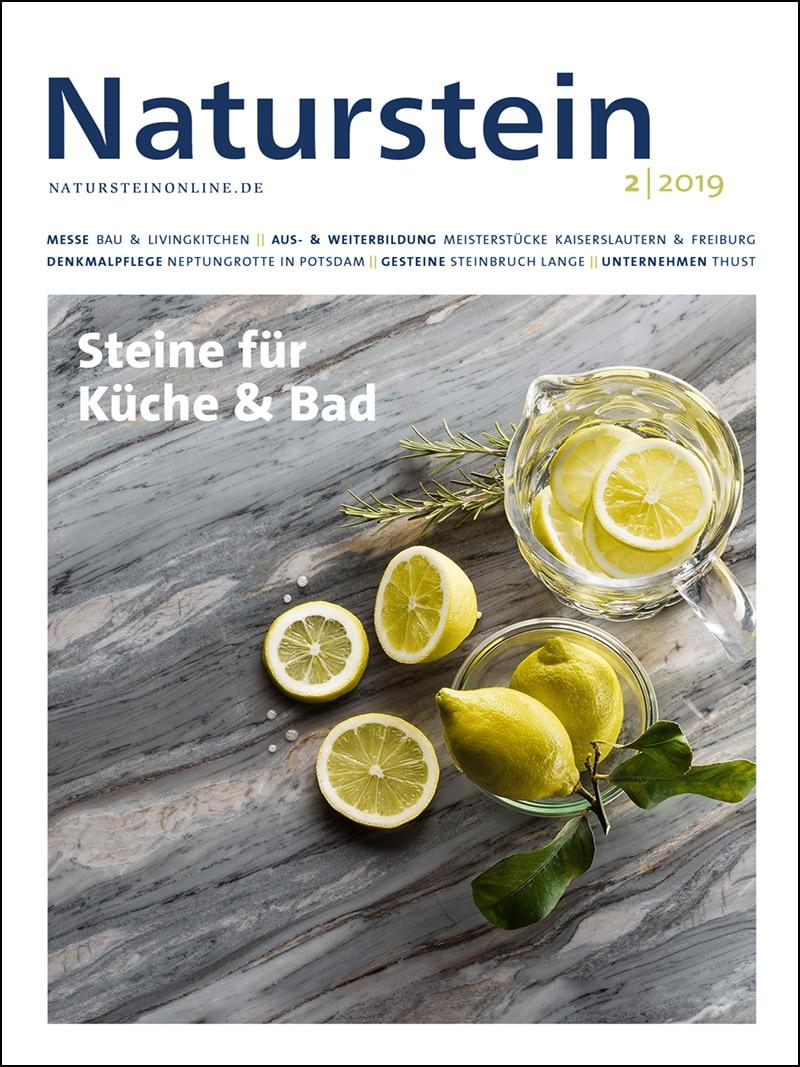 Produkt: Naturstein 2/2019 Digital