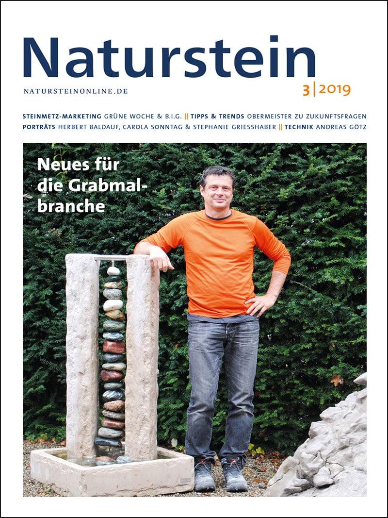 Produkt: Naturstein 3/2019 Digital