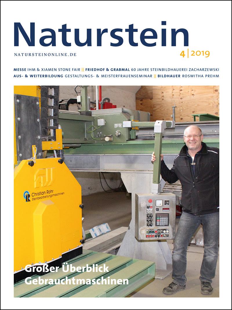 Produkt: Naturstein 4/2019 Digital