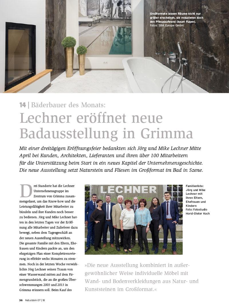 Produkt: Download Bäderbauer des Monats (14): Lechner