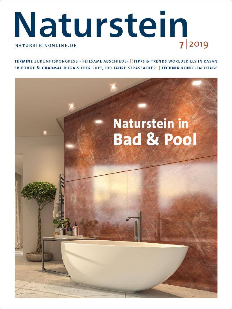 Produkt: Naturstein 7/2019 Digital
