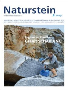 Naturstein 08/2019 Cover