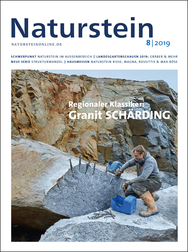 Produkt: Naturstein 8/2019