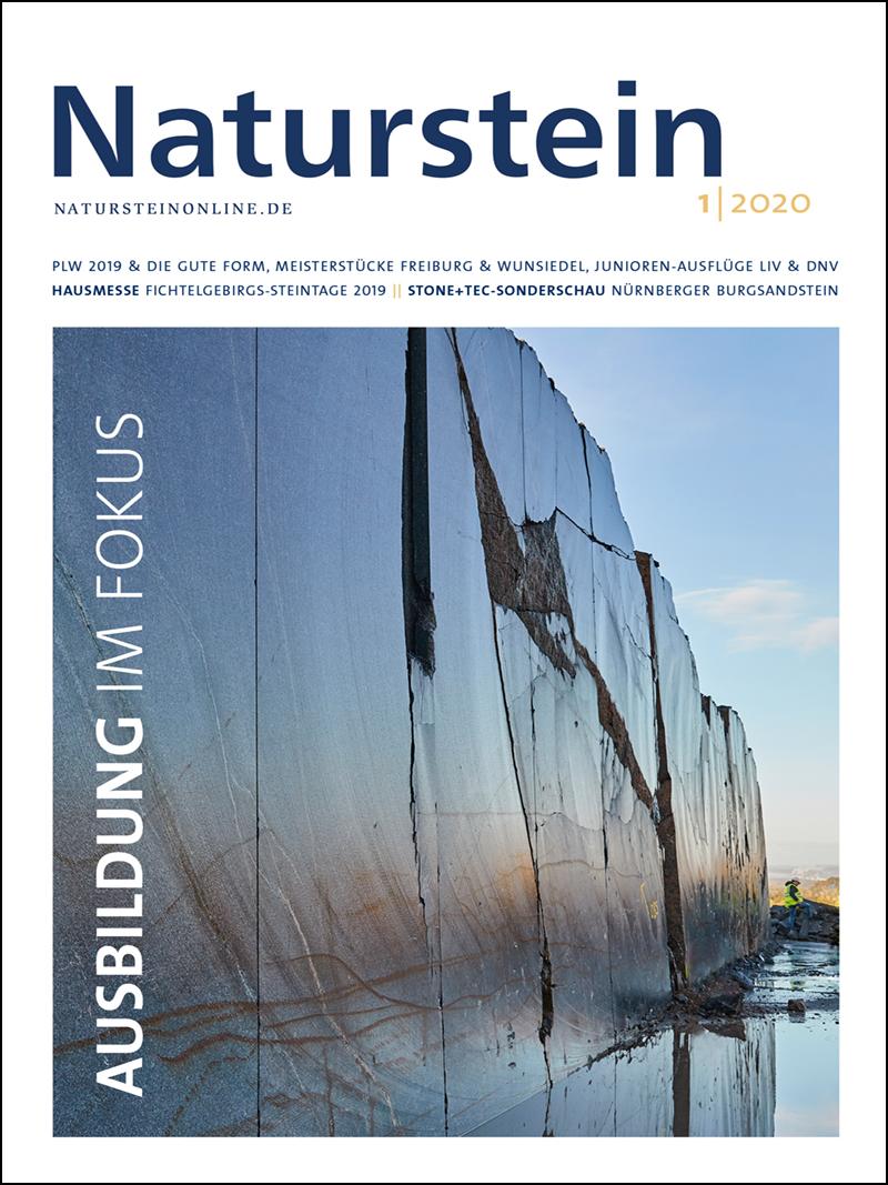 Produkt: Naturstein 01/2020 Digital