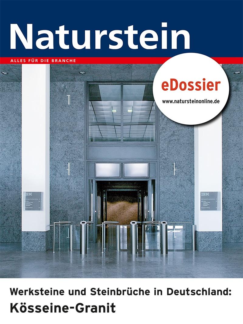 Produkt: Download Werksteine und Steinbrüche in Deutschland: KÖSSEINE-Granit