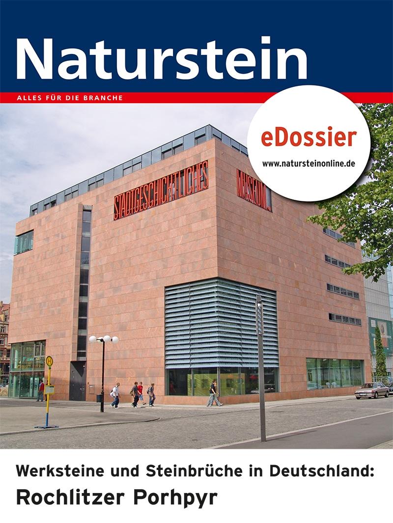 Produkt: Download Werksteine und Steinbrüche in Deutschland: ROCHLITZER PORPHYR